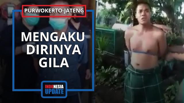 Pria di Bandung Lempari Kaca Masjid di Dago, Pelaku Diikat Warga di Pohon: Aku Itu Emang Gila