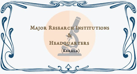 Major Research Institutions & Headquarters