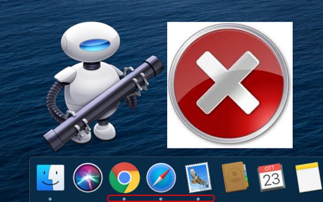 Chiudere tutte le applicazioni con un click - Automator - macOS