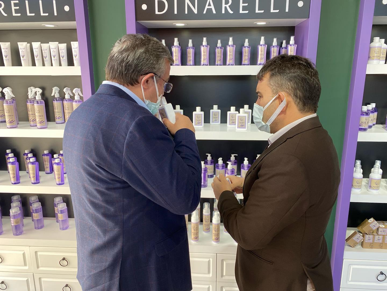 Dinarelli Lavanta Ürünleri ve Kadın Kültür Merkezi Tesisleri Açıldı