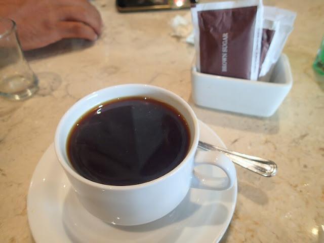 americano, coffe shop pause rawamangun