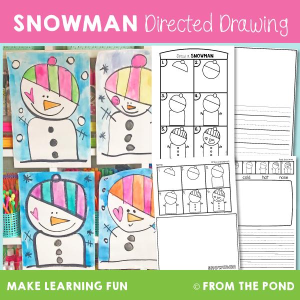 snowman art project for kids
