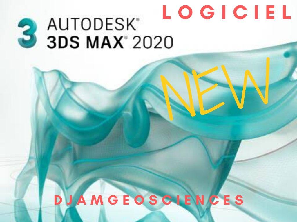 TÉLÉCHARGER LE LOGICIEL 3DS MAX 2020 COMPLET+KEY GRATUIT