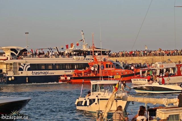 Procesión Marinera Virgen del Carmen - Puerto de Ibiza