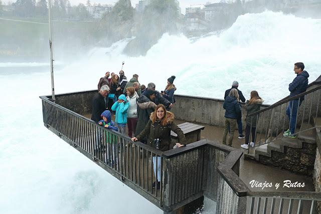 Las cataratas del Rin, Suiza