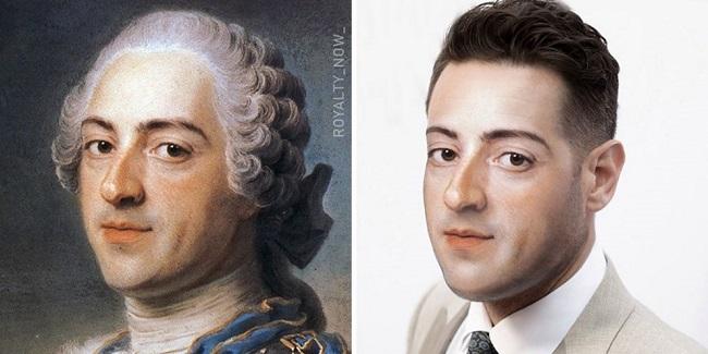 Luís XV de França/Royalty Now/Reprodução