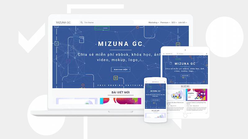Mizuna Premium Responsive