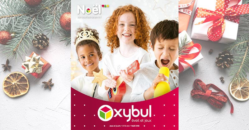 Catalogue Oxybul Eveil et Jeux Noël 2018