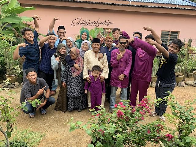Perjumpaan Keluarga Besar 4 Syawal
