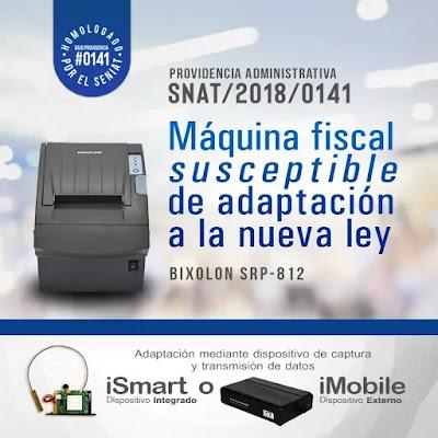 imagen Bixolon  SRP – 812 Máquina fiscal