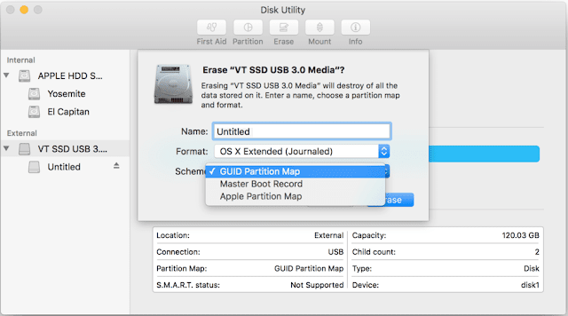 How to Format an External Disk or a Flash Drive for Mac