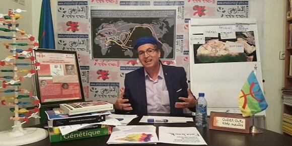 رئيس التجمع العالمي الأمازيغي رشيد الراخا الامازيغية