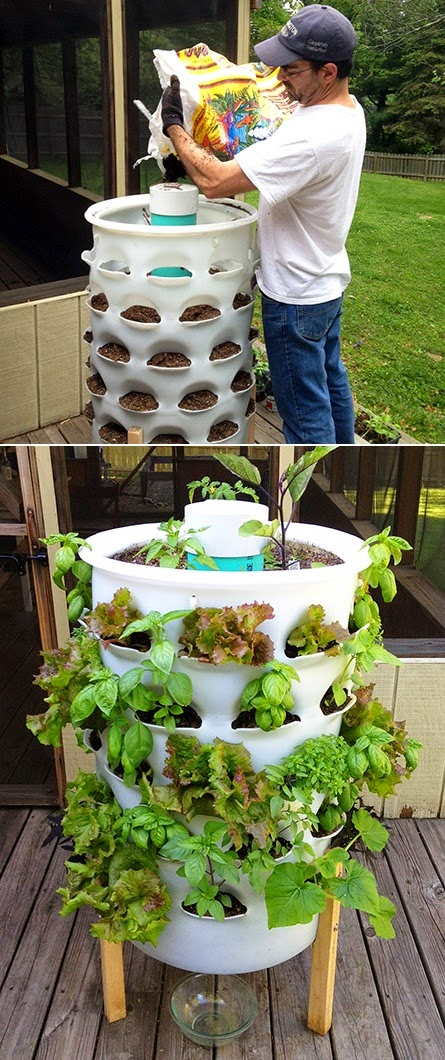Kitchen Compost Container Cast Iron Sink The Garden Tower Project #container_gardening - My ...
