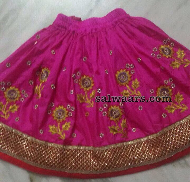 Grand Lehenga for Bday Events
