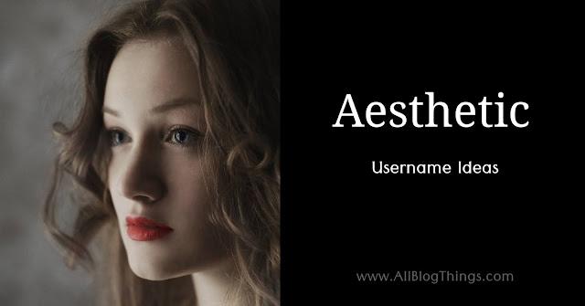 Aesthetic Names: 600+ New & Unique Aesthetic Usernames