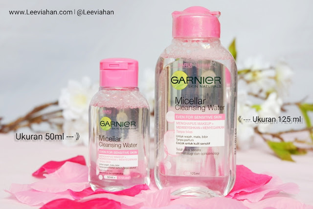REVIEW Garnier Micellar Water Versi Mini Size 50ml, Garnier Indonesia, Micellar Water Garnier