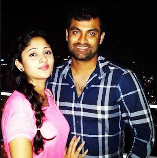 Tamim With His Wife
