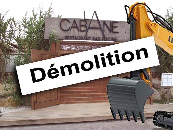 Démolition Cabane de Pérols