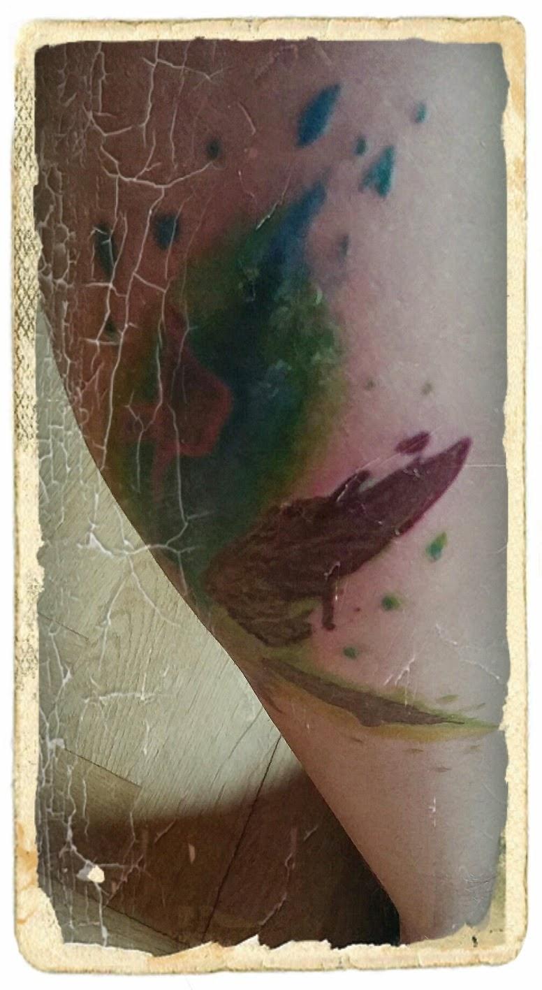 Projekt Ink świat W Kolorowych Barwach Znieczulenie Daje