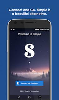 تحميل تطبيق Simple Social Pro v8.3.2 Apk