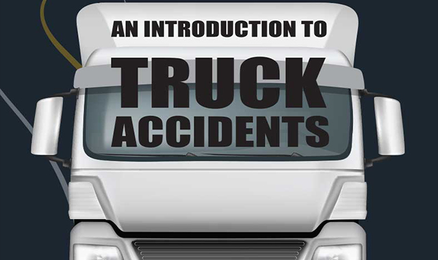 False death and accidents in the truck #infographic