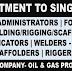 Singapore EPC Company Oil & Gas Project Recruitment 2021