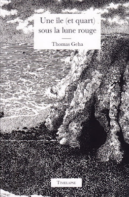 couverture du livre Une île (et quart) sous la lune rouge. T. Geha