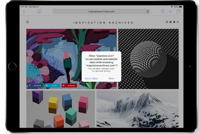 شركة Apple تحمي لك خصوصيتك حتي لو لم تضمن لك مواقع التصفح ذلك :
