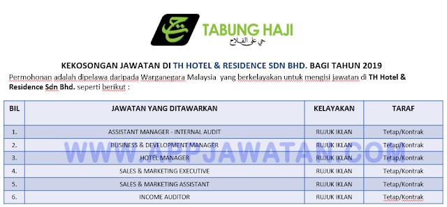 TH Hotel & Residence Sdn Bhd.