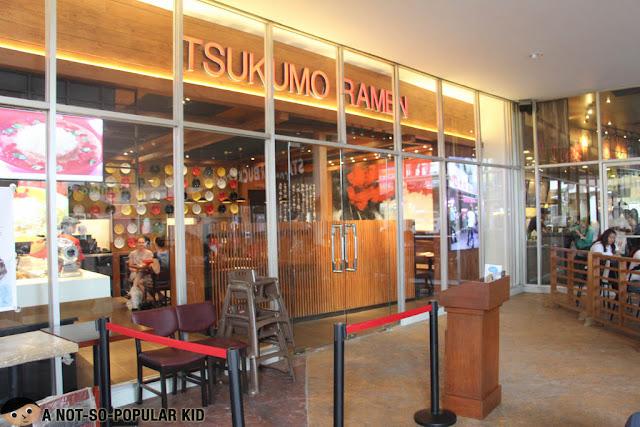 Tsukumo Ramen now in Philippines