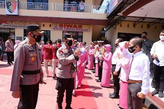 Kapolda Sulsel Laksanakan Kunjungan Kerja ke Polres Luwu Utara dan Polres Palopo