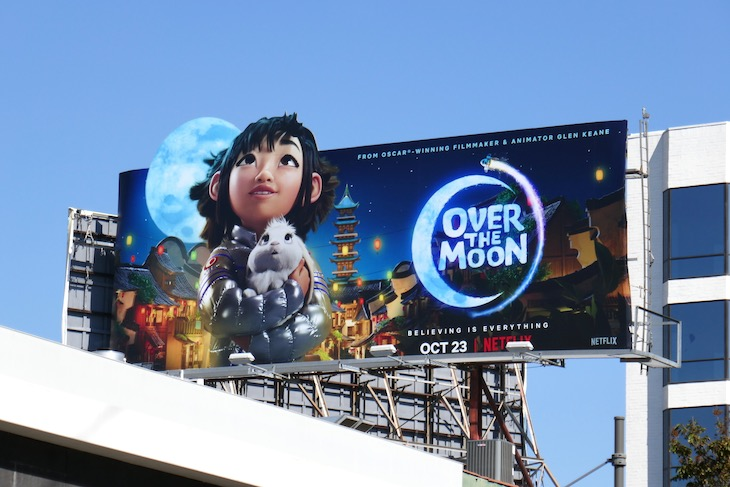 Over the Moon film billboard