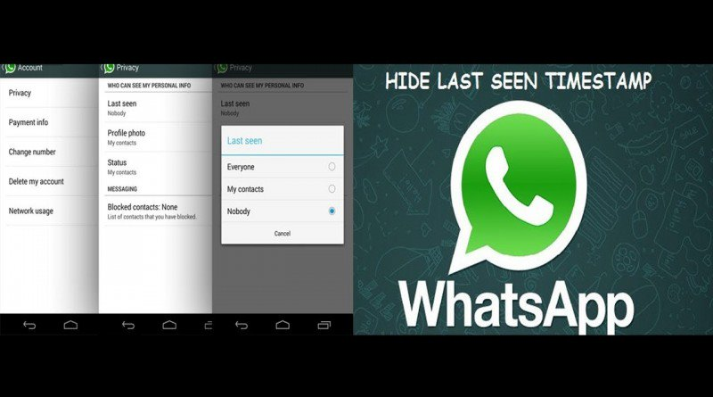 New Nicehash O >> Whatsapp New Feature – Hide Last Seen Time, Profile Picture and Status in Android - InteloGeek