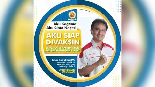 Roy Suryo Siap Disuntik Vaksin Covid-19, Tapi Ogah Diberi Sinovac