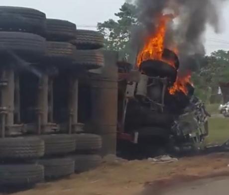 dangote truck fatal accident