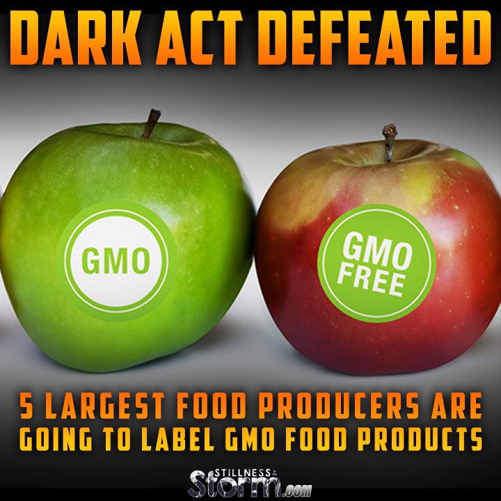 DARK Act Defeated | 5 Largest Food Producers Are Going to ...
