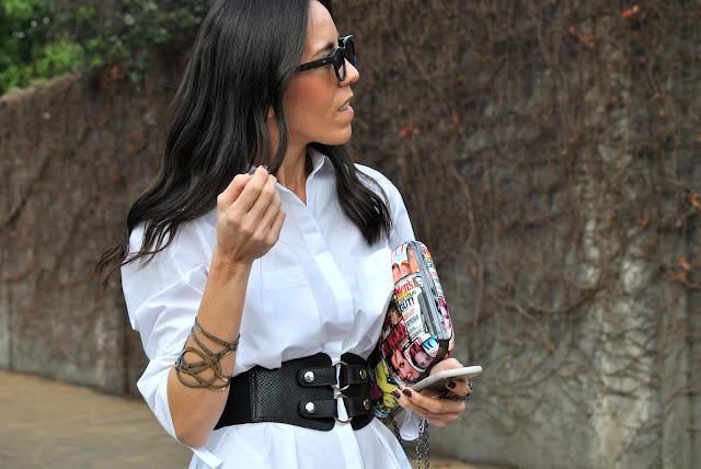 look, outfit, como llevar vestido camisero, como llevar camisa blanca, Asesora de Imagen, july latorre, fashion, moda, estilismo, basicos de armario, estilo, fashion blogger, tendencias, verano 2018, portsaid, divina bolivia