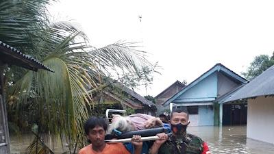 Diguyur Hujan Semalam Suntuk, 7 Desa di Kecamatan Sidareja Terendam Banjir