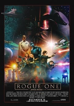 Poster Rogue One - Uma História Star Wars Dublado Download via Torrent