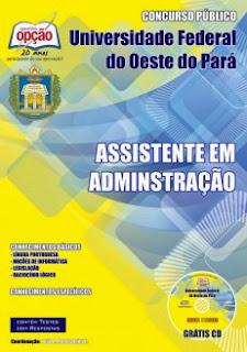 Apostila concurso Ufopa-PA, Assistente em Administração (Nível Médio)