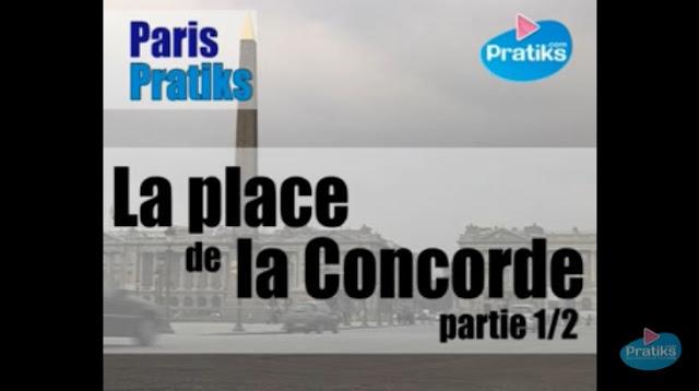 la place de la Concorde, Paris, France, FLE, le FLE en un 'clic', apprenez le français, compréhension orale, DELF