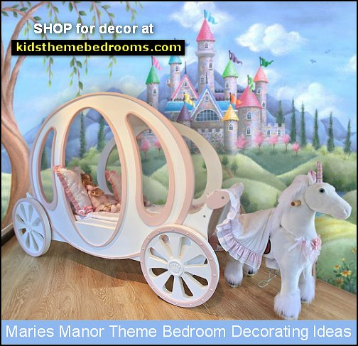 Cinderella Carriage Bed unicorns cinderella pumpkin coach bed princess pumpkin bed castle murals