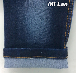 Vải jean T/R thun S311