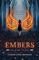 eighteen year old girl who discovers that she's immune to fire and any other injury when she's in a horrific car crash that kills her parents. Following a violent episode with her aunt's boyfriend, Ember flees Ohio to live with an old relative in the Smoky Mountains of Tennessee. Ember's exuberance at escaping a bad home life soon turns to trepidation when she learns that she's a Watcher, a descendant of angels.  While Ember is instructed about her heritage and the powers that go along with it, she strikes up friendships with two teenagers who live inside of a frightening walled compound in the forest. Inexplicably drawn to one of the young men in particular, an impossible romance develops. But it's cut short when Ember discovers that her new friends are fighting on the opposite side of a war that's been raging between two factions of Watchers for thousands of years. When the compound's inhabitants threaten the townspeople, Ember takes action, sealing her fate in the ancient battle of good versus evil, and the grayness in between.