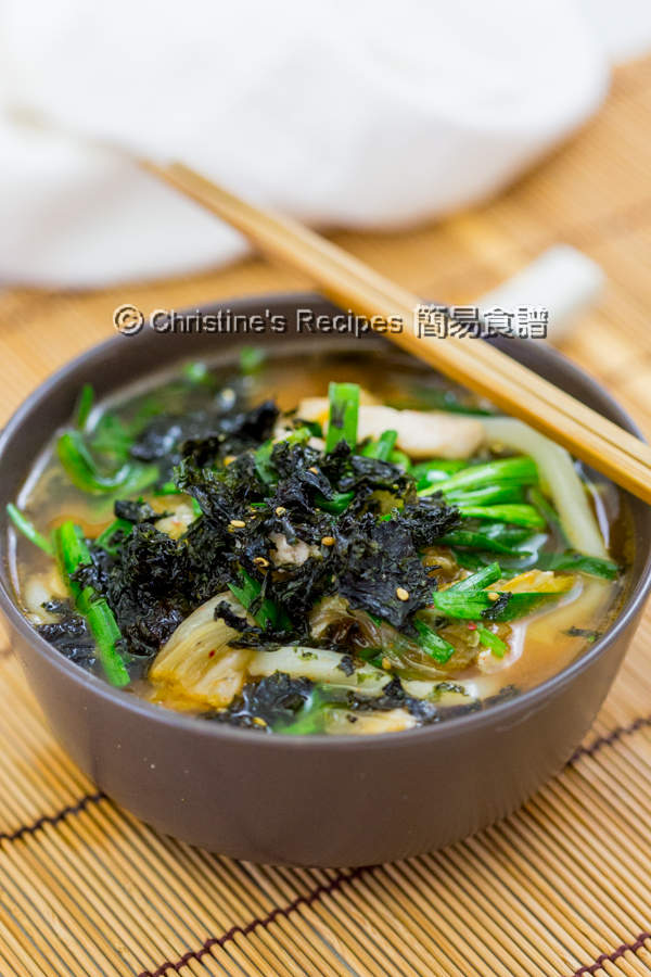 泡菜雞肉湯烏冬 Kimchi Chicken Udon Soup02