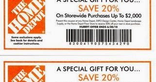Home Depot Printable Coupons May 2018