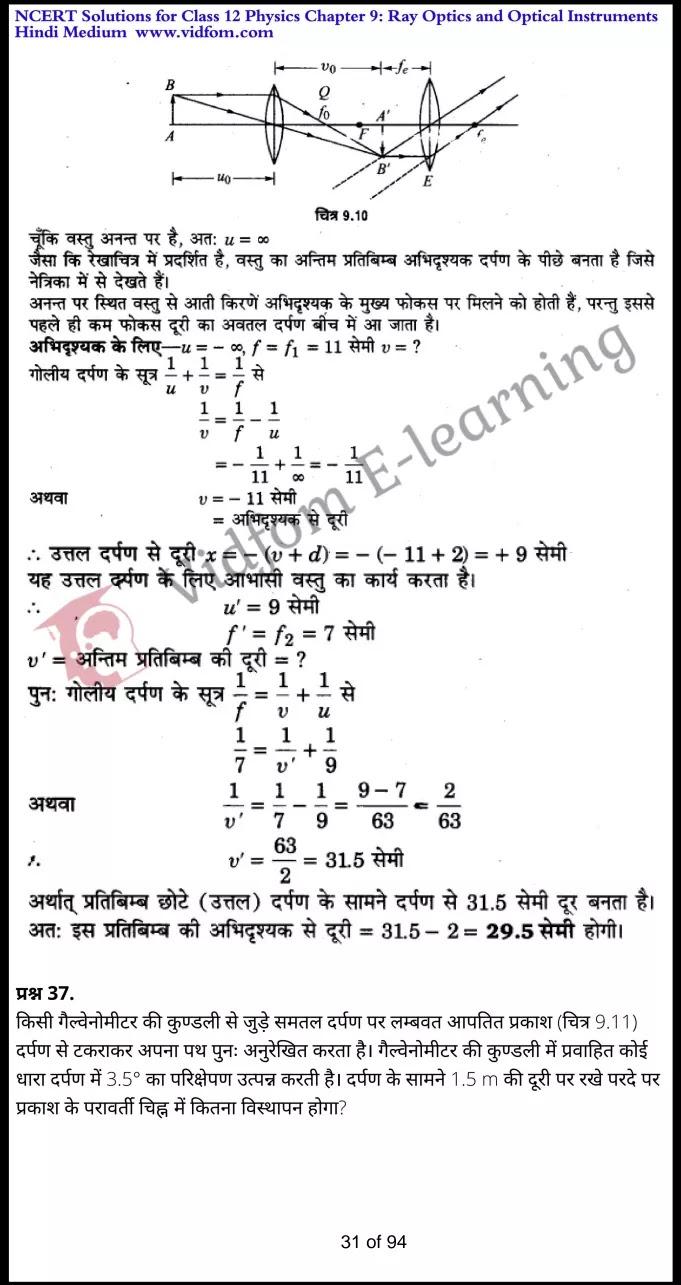 class 12 physics chapter 9 light hindi medium 31