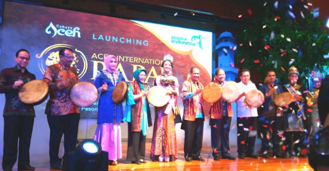 Tanggal 26-30 Agustus, Banda Aceh Gelar Festival Aceh Internasional Rapa'i