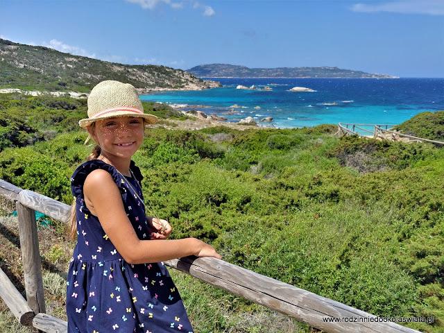 Sardynia z dziećmi- Archipelag wysp La Maddalena