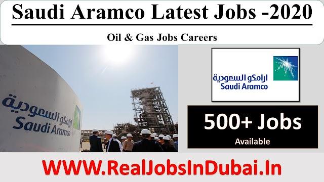 Saudi Aramco Hiring Staff -2020